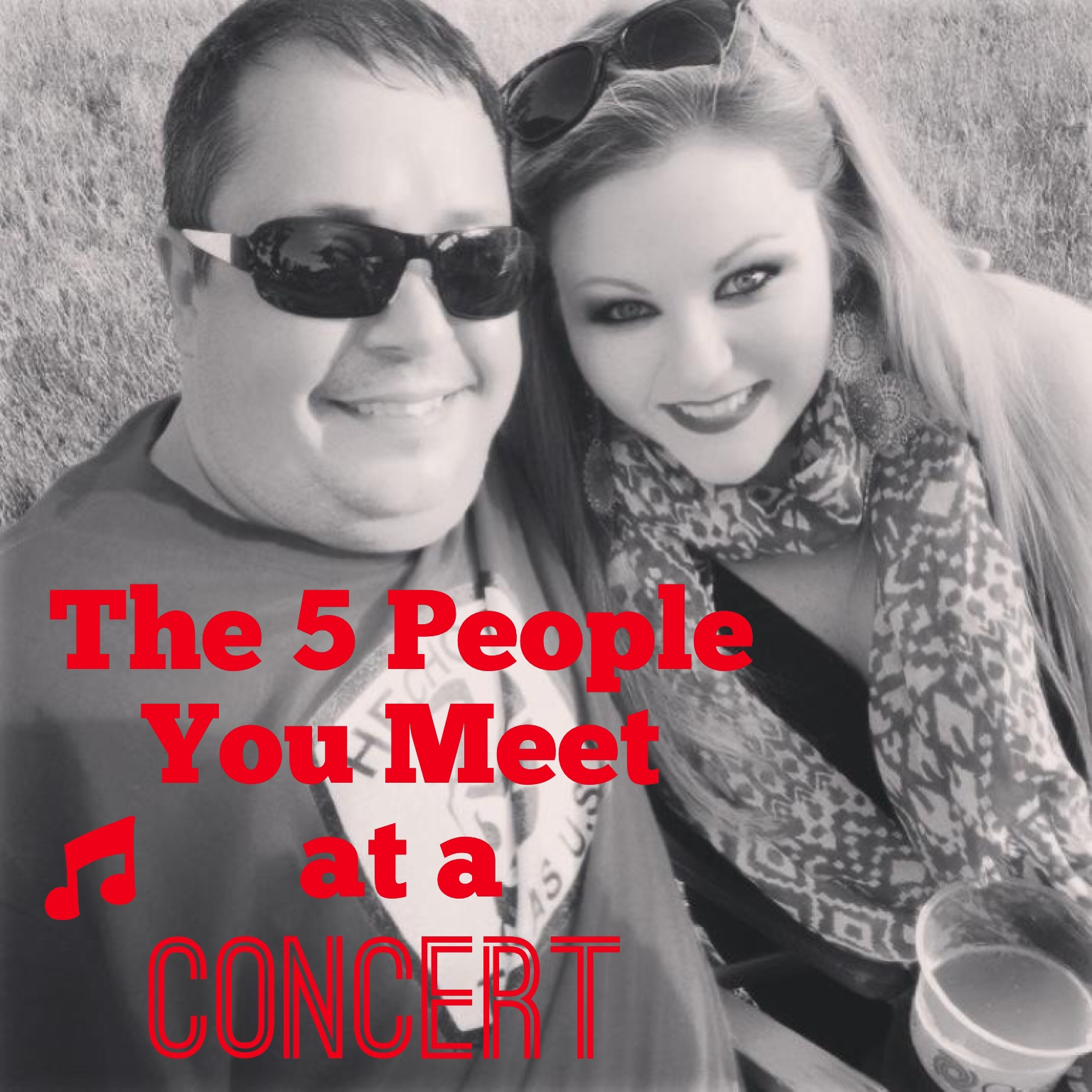 The 5 People You Meet at a Concert