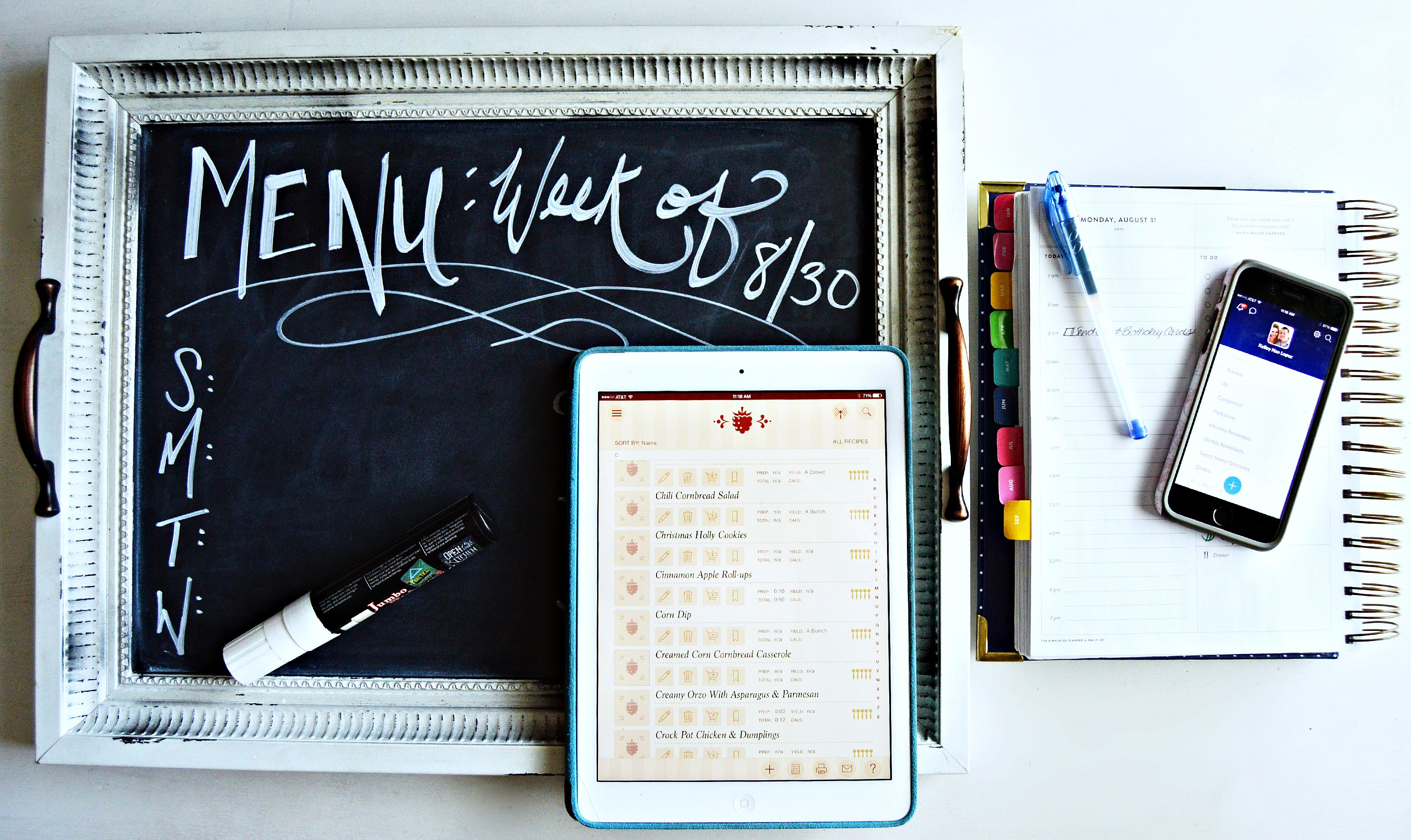 Tools & Tips for Weekly Meal Planning