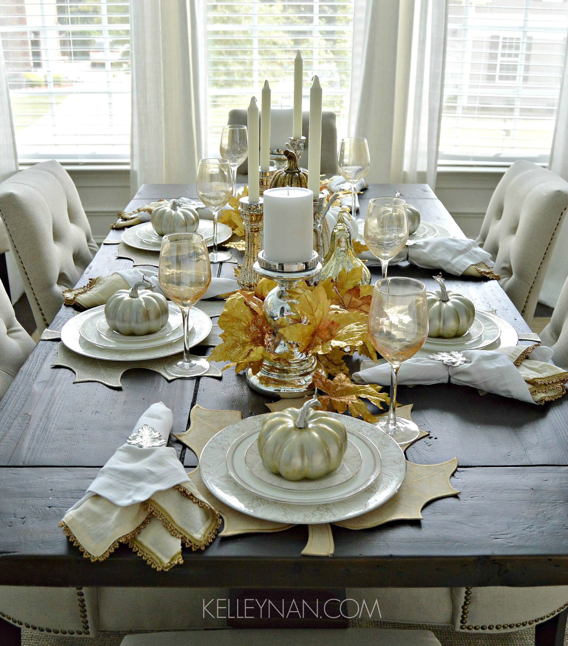 Creating A Fall Tablescape Kelley Nan