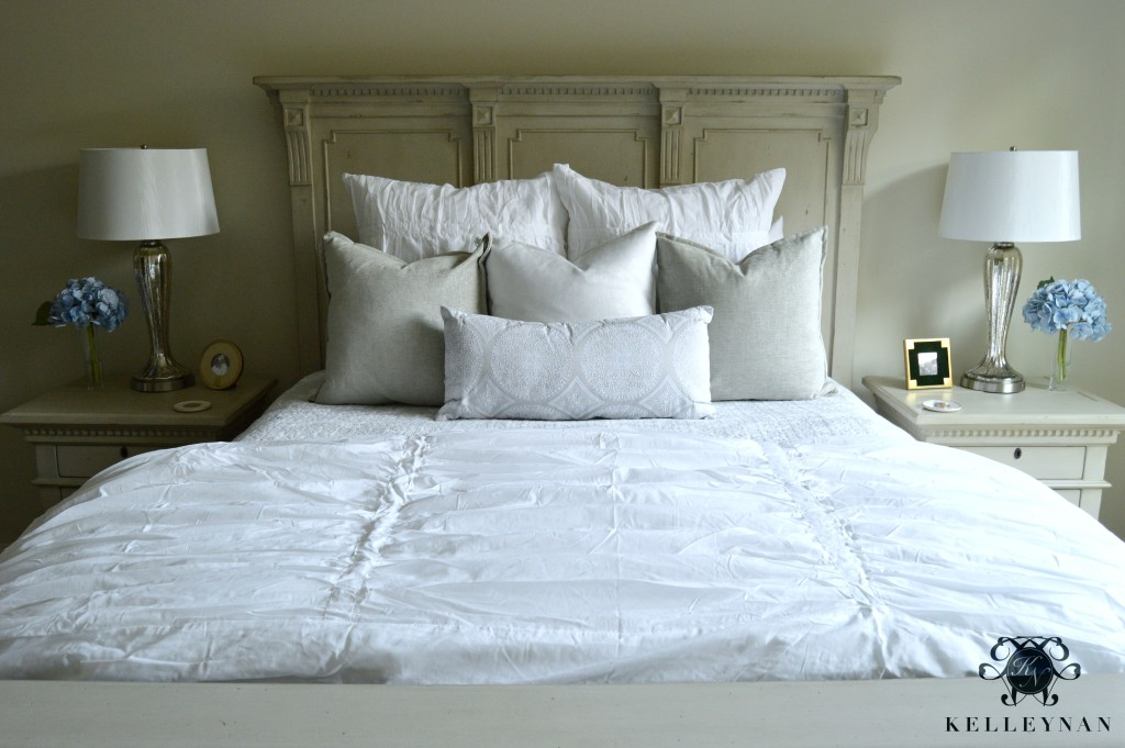 Neutral Guest Bed Makeover