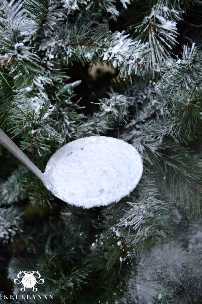 Fake Christmas Tree Snow