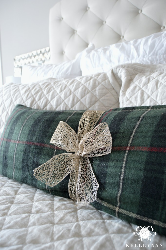 Blanket Scarf DIY Pillow