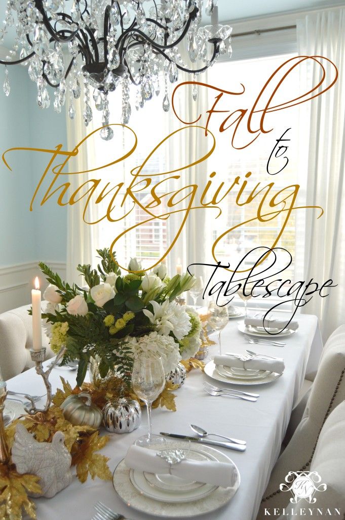 Fall to Thanksgiving Table
