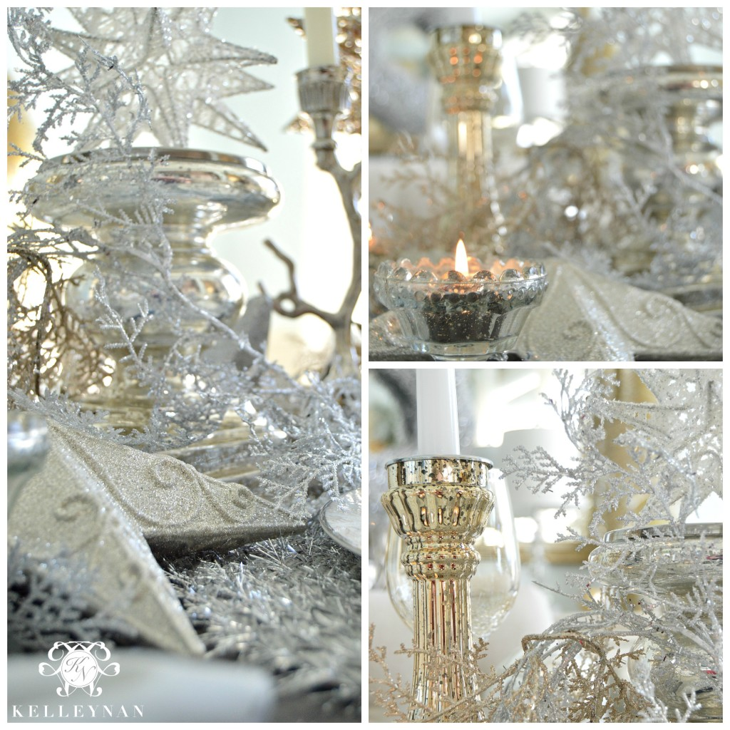 Christmas Dining Table Details