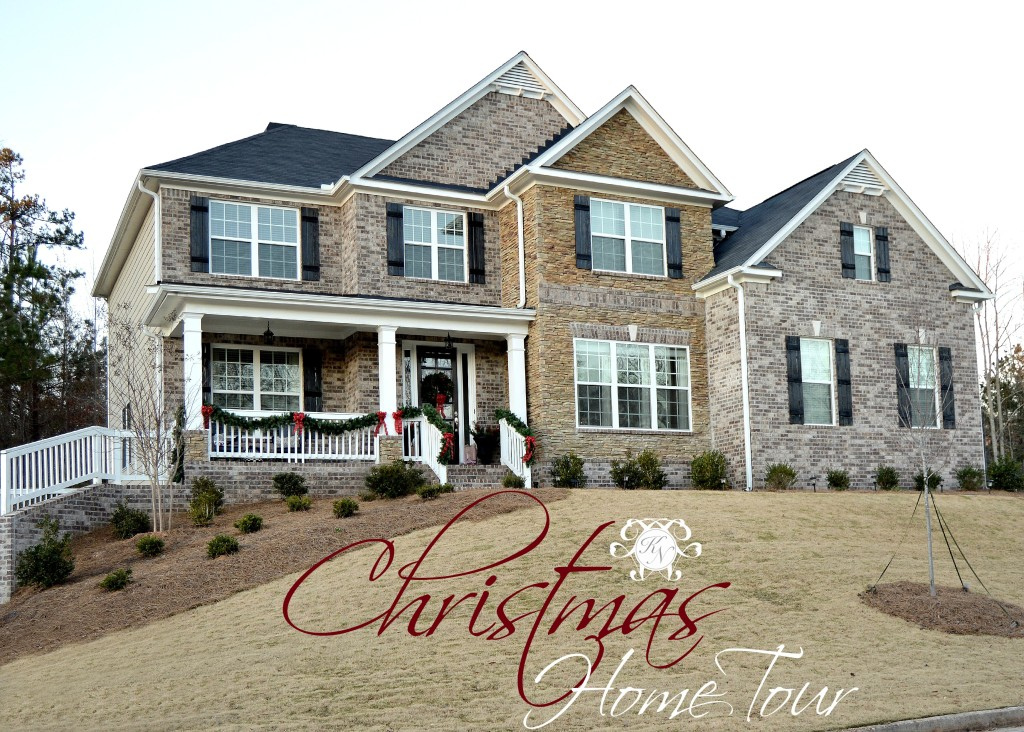 Christmas Home Tour Blog Announcement