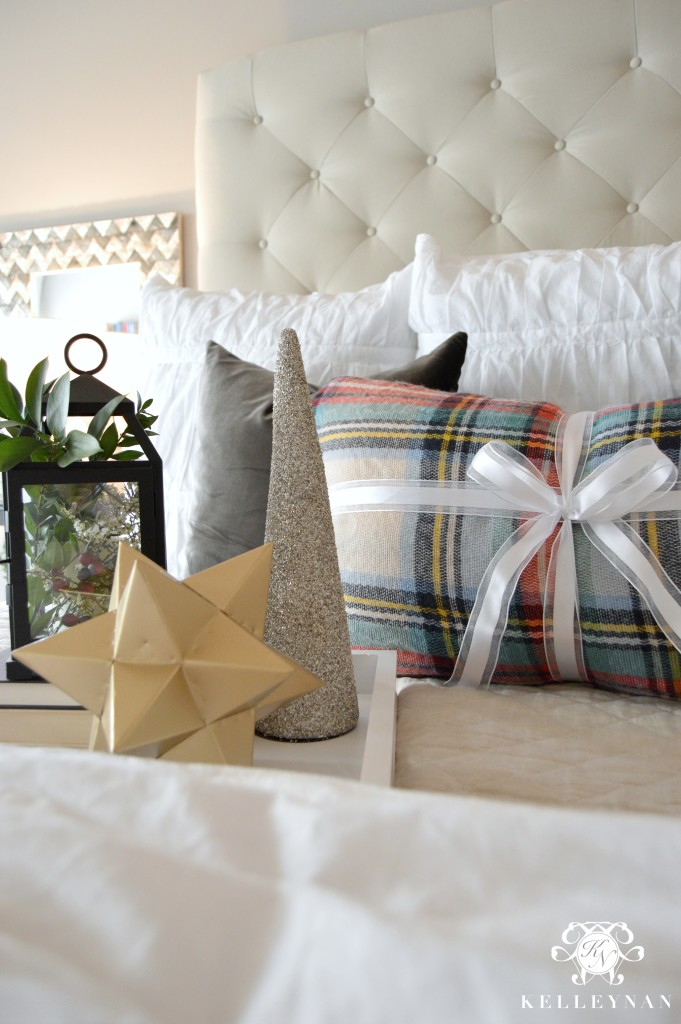DIY Blanket Scarf Pillow Cover