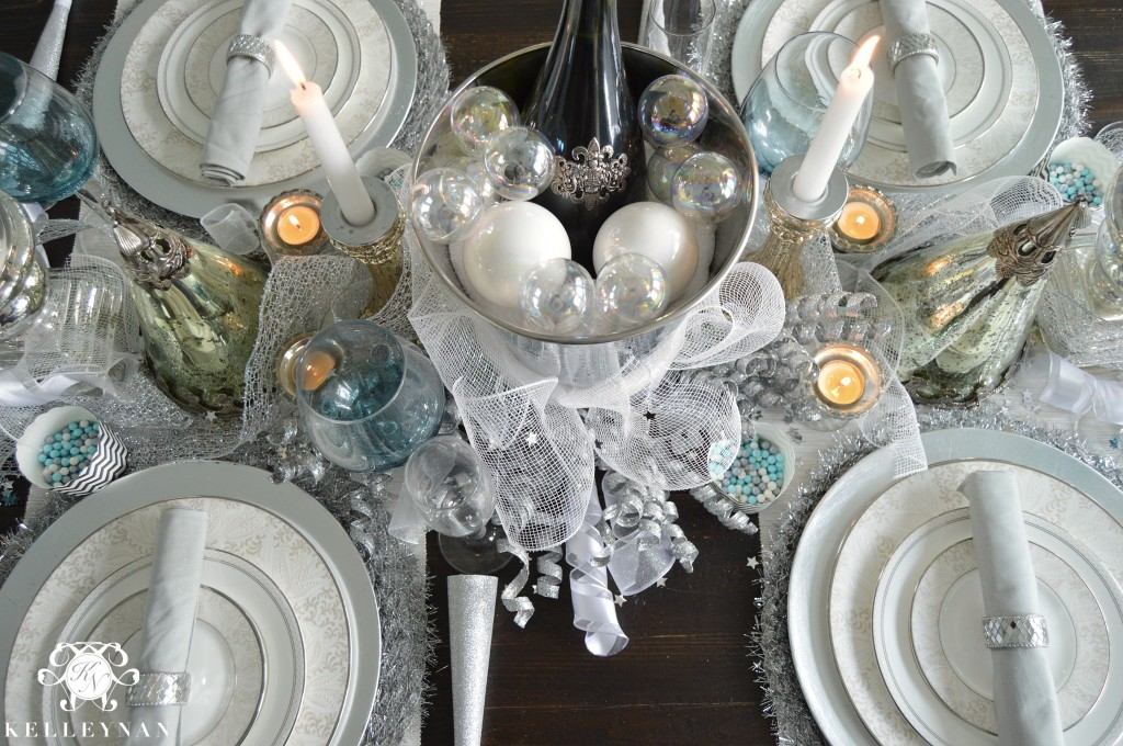 New Year's Table Centerpiece