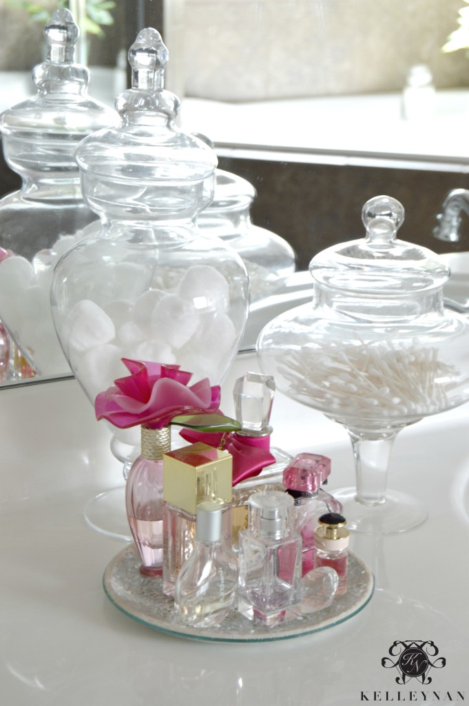 Bathroom Apothecary Jars