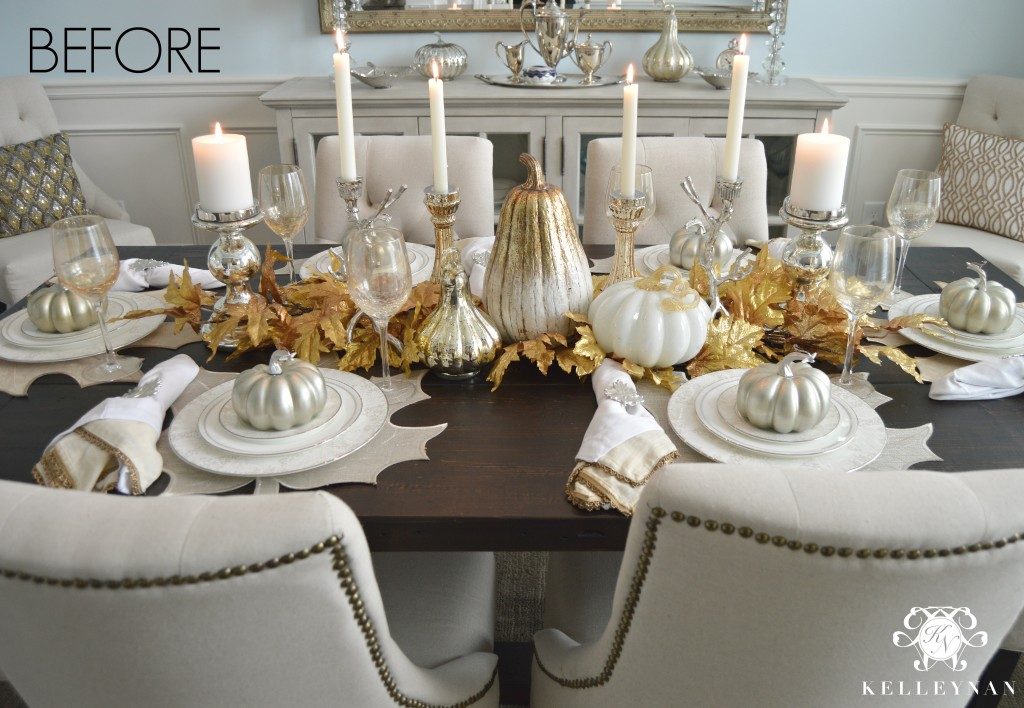 Fall To Thanksgiving Tablescape Kelley Nan