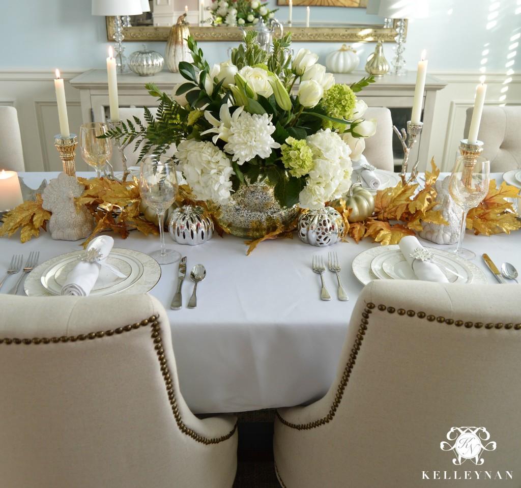 Thanksgiving Table Centerpiece