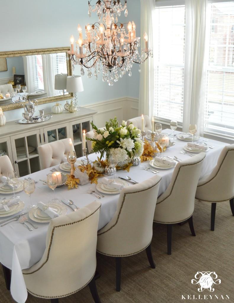 Set Thanksgiving Table