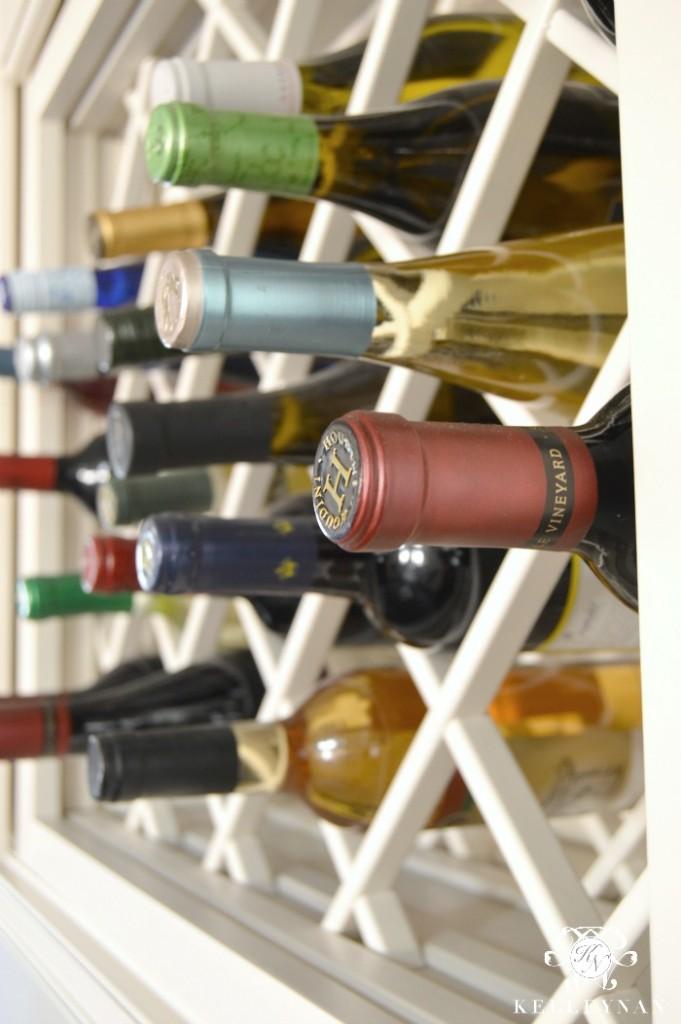 Wine in Wine Lattice