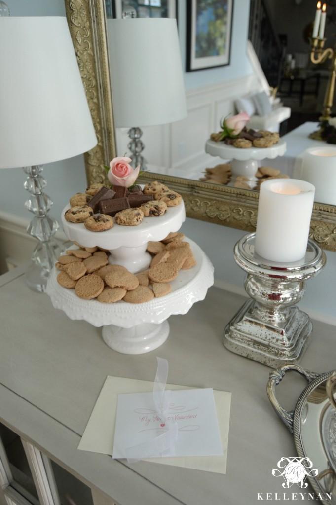 Dessert Station in Dining Room