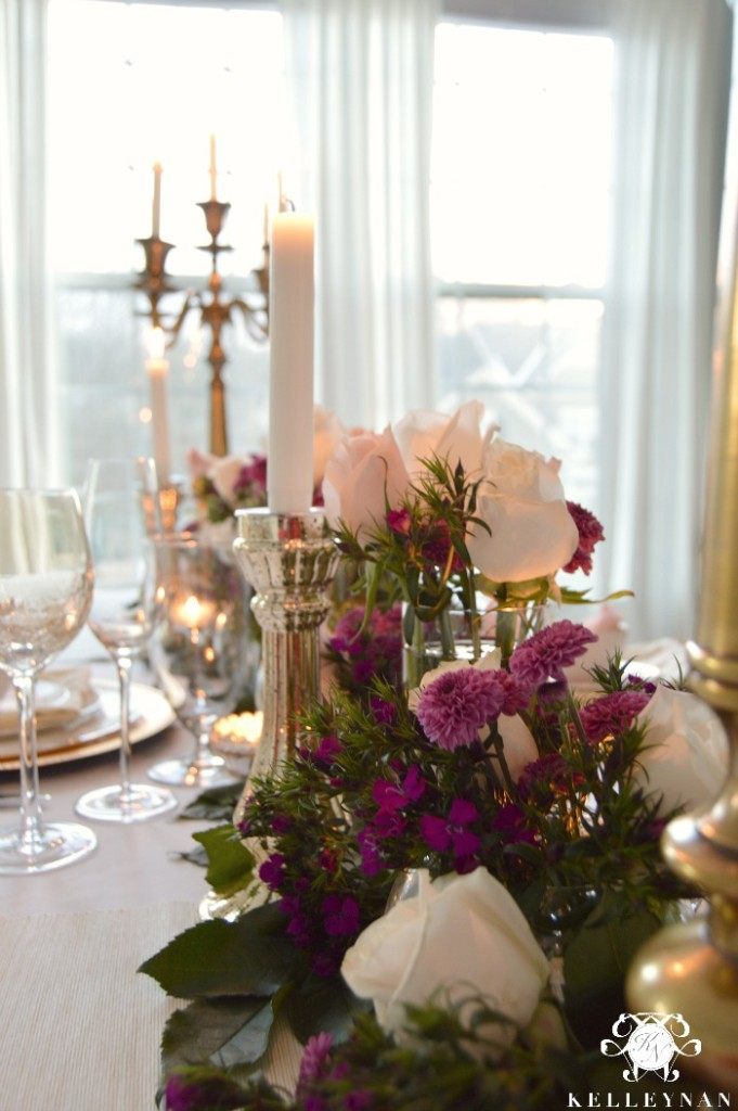 Valentine's Day Table- Candle Light