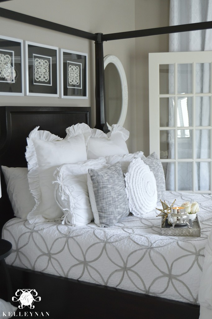 White Guest Bedding