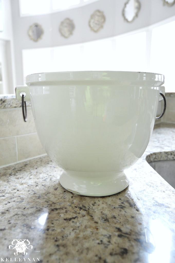 Potery Barn Rhodes Ice Bucket