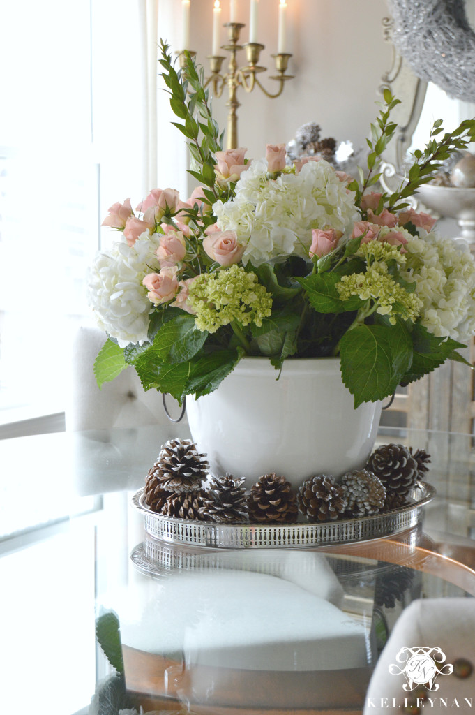Large Floral Arrangement Centerpiece