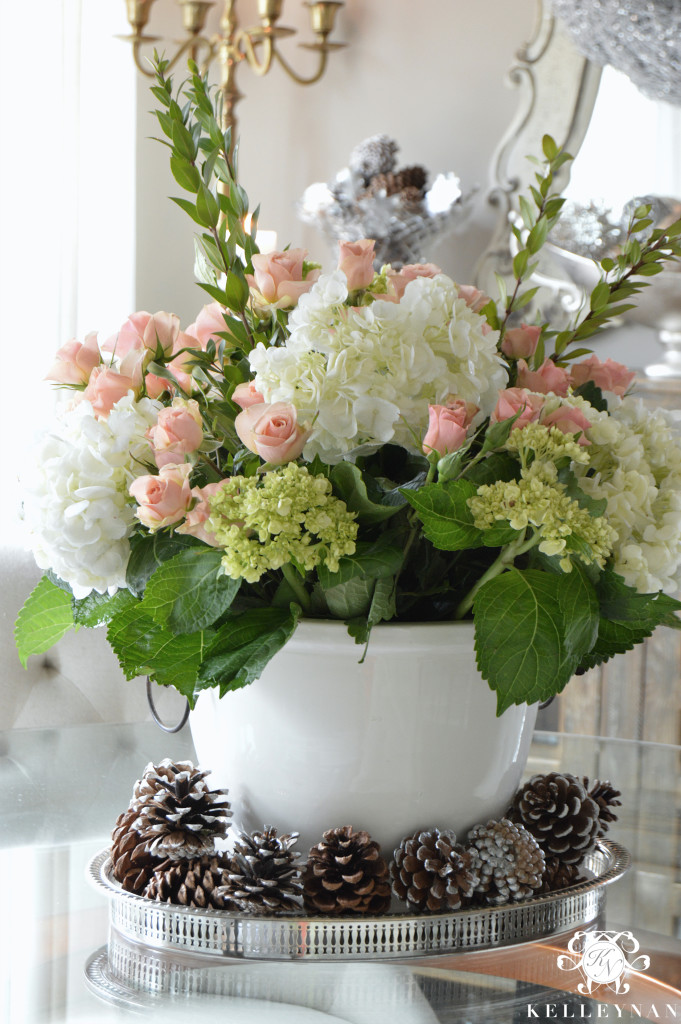 Simple Steps To Create A Grand Flower Arrangement Kelley Nan