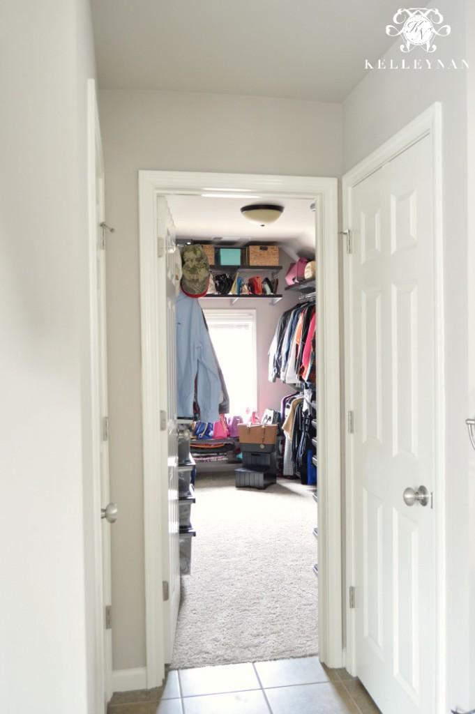 Elfa Closet 1
