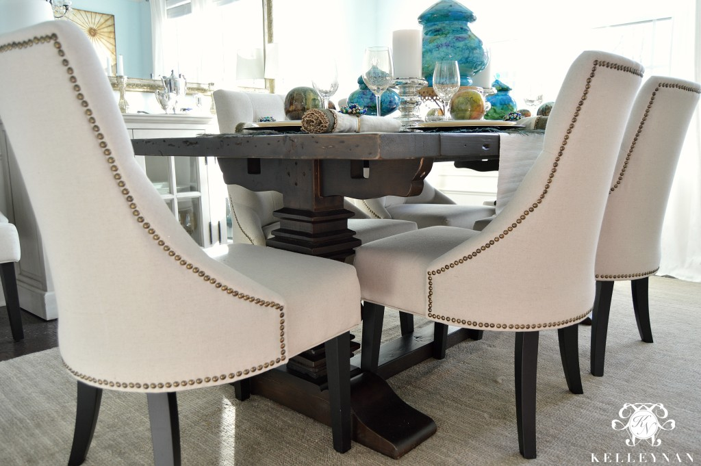 Peacock Table Corner 7
