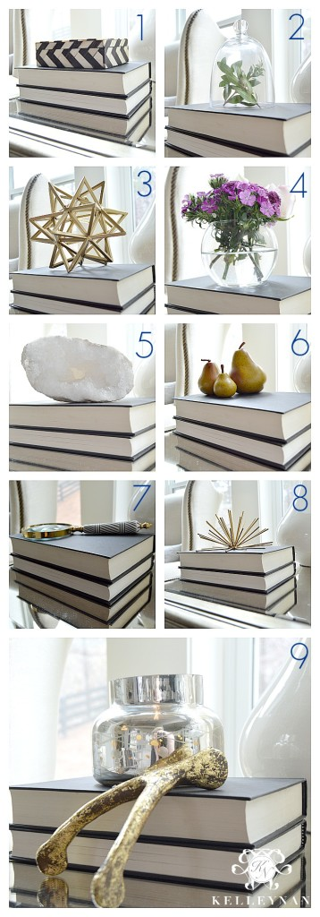 Ideas for Book Decor