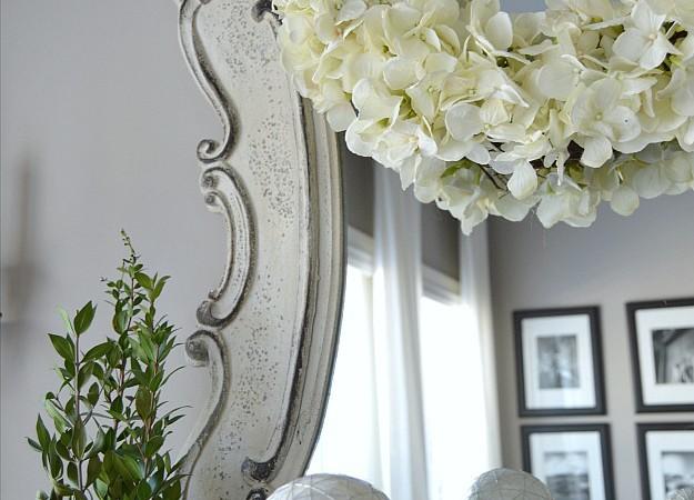 DIY: Easy Spring Hydrangea Wreath