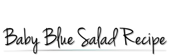 Baby Blue Spring Salad Recipe