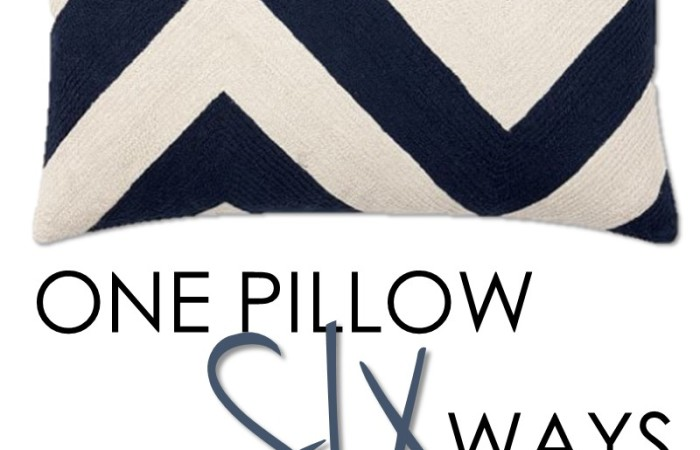 One Pillow Six Ways | How to Mix and Match for Spring