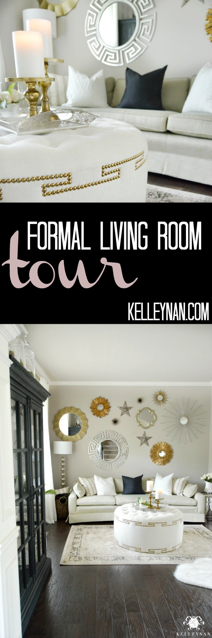 Formal Living Room Tour Pin