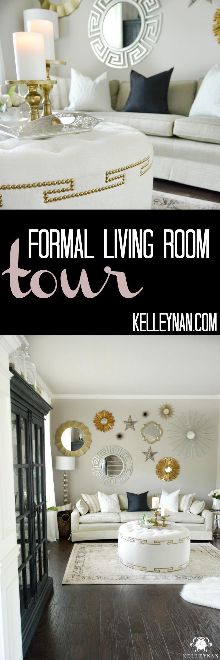 Formal Living Room Tour Pin