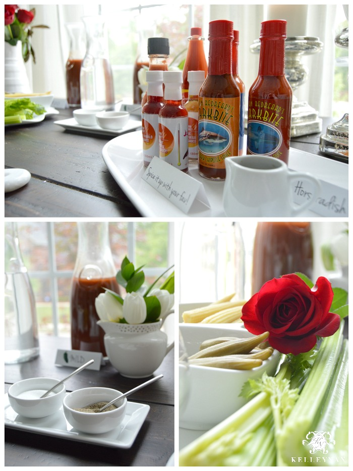 Ultimate Bloody Mary Bar Necessities