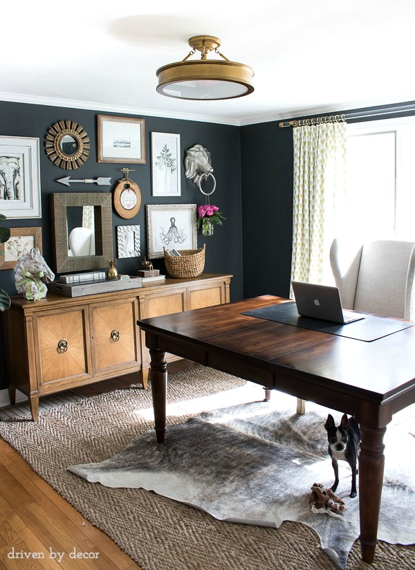 Decorating with Sheepskin and Cowhide - Kelley Nan