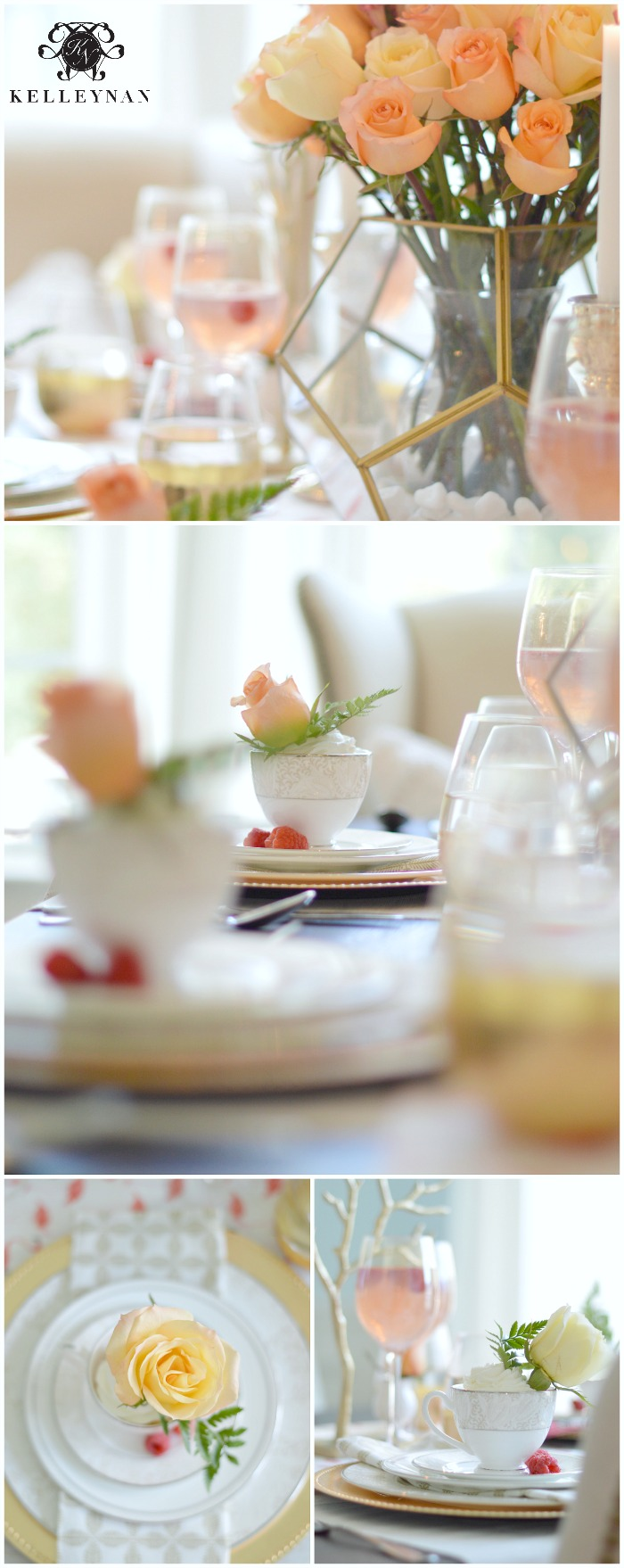 Pink Flamingo Girls Luncheon Tablescape