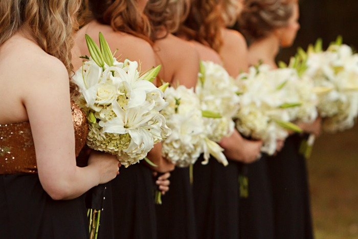 big-bridesmaid-bouquets-with-white-hydrangeas-roses-and-lillies