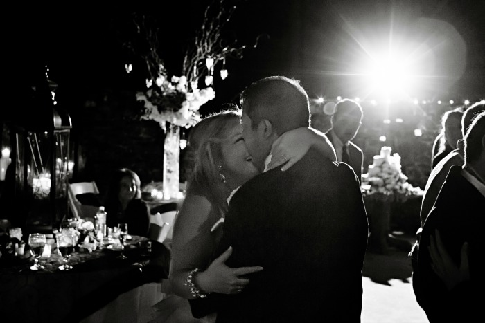 first-dance-at-night-in-black-and-white