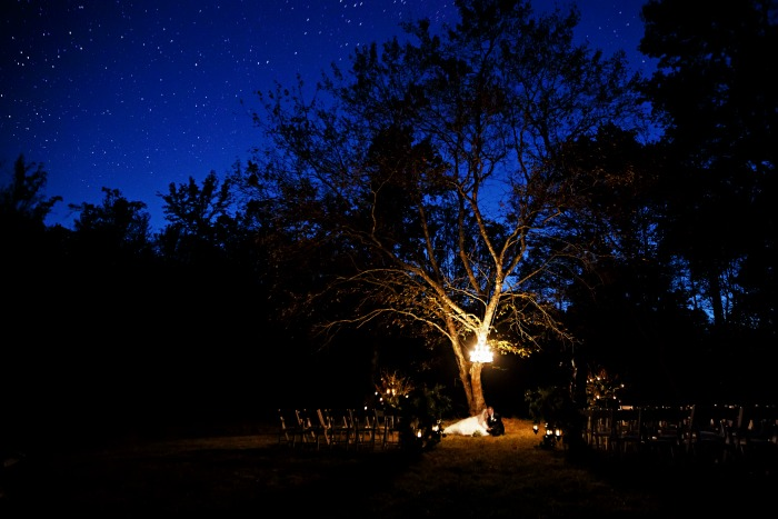 romantic-outdoor-wedding-at-night-with-chandelier-hanging-from-tree-kellum-valley-farm