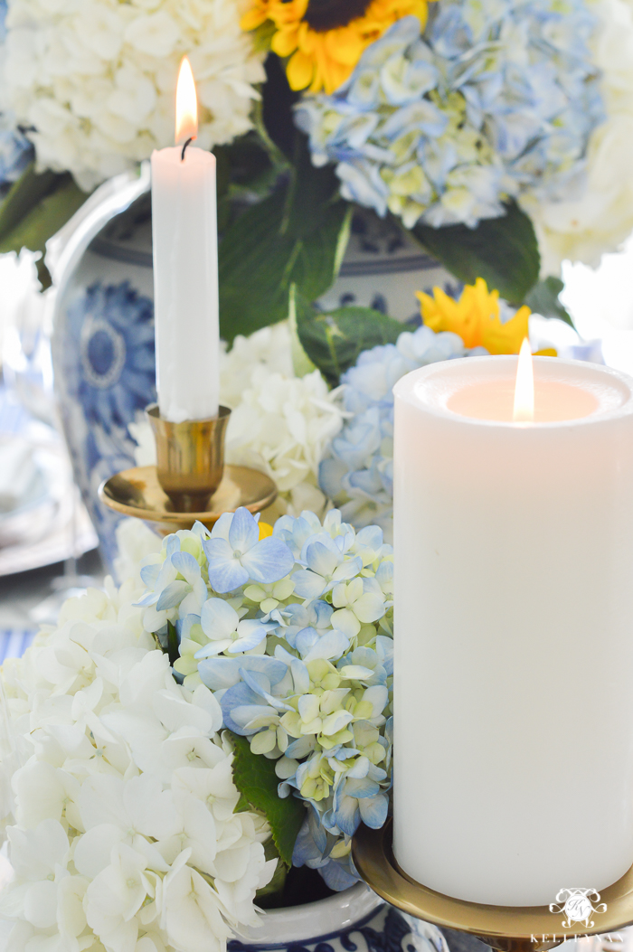 blue-and-white-thanksgiving-table-idea-with-sunflowers-and-hydrangeas-10-of-21