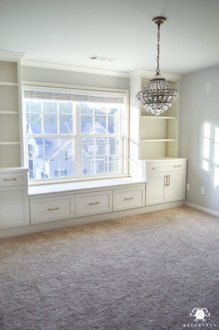 crystal-chandelier-in-one-room-challenge-office-makeover-with-sherwin-williams-on-the-rocks-1-of-7