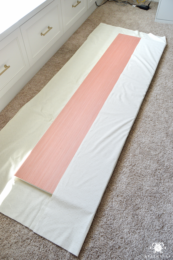 Easy Stapled Diy Window Seat Cushion Kelley Nan