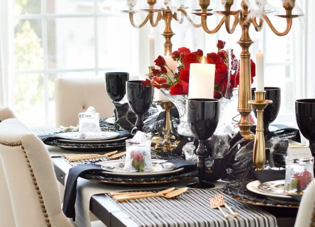 Gothic Dinner Party for Halloween