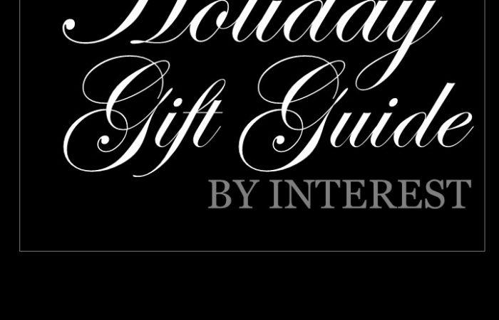 Holiday Gift Guide by Interest