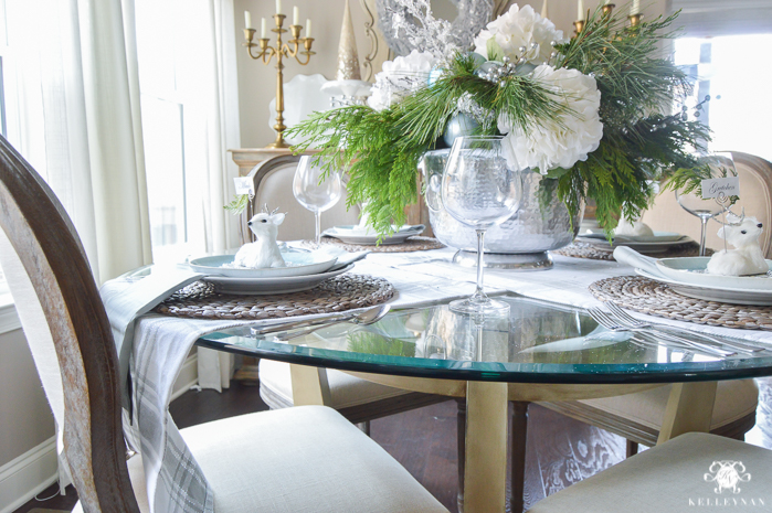 icy-blue-and-white-christmas-dinner-table-ideas-with-deer-10-of-16