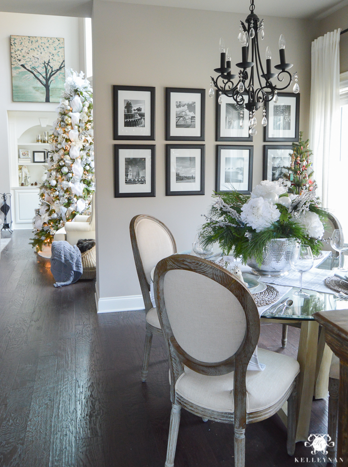 icy-blue-and-white-christmas-dinner-table-ideas-with-deer-7-of-16