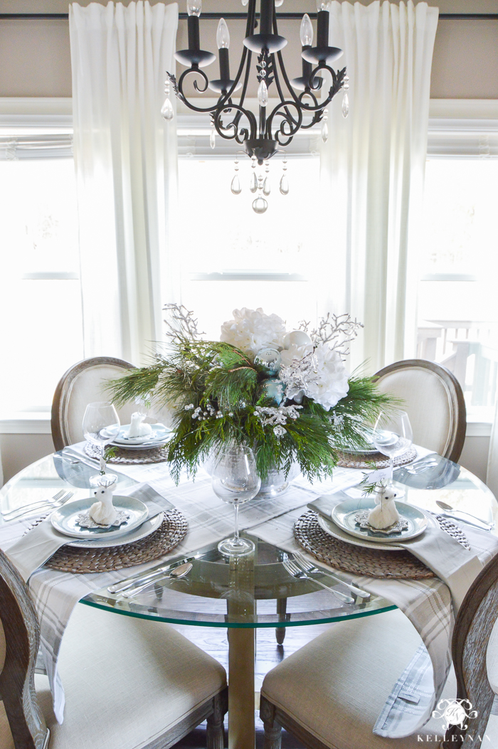 icy-blue-and-white-christmas-dinner-table-ideas-with-deer-9-of-16