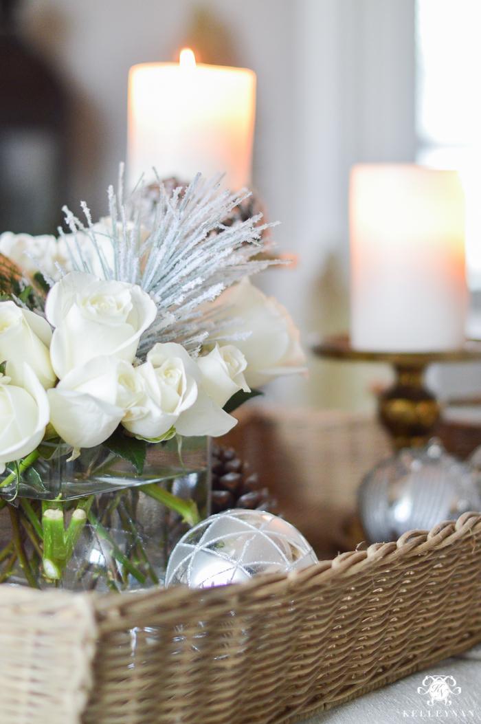 christmas-floral-arrangement-in-living-room