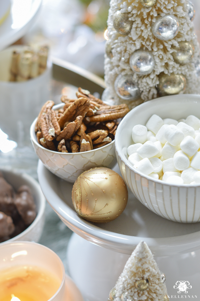 christmas-snacks-in-living-room-on-bar-cart