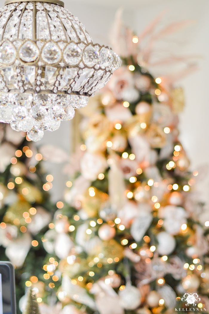 christmas-tree-under-crystal-chandelier
