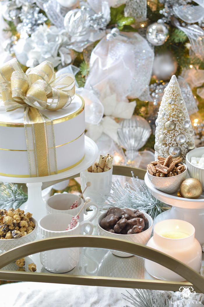 gold-bar-cart-with-christmas-essentials