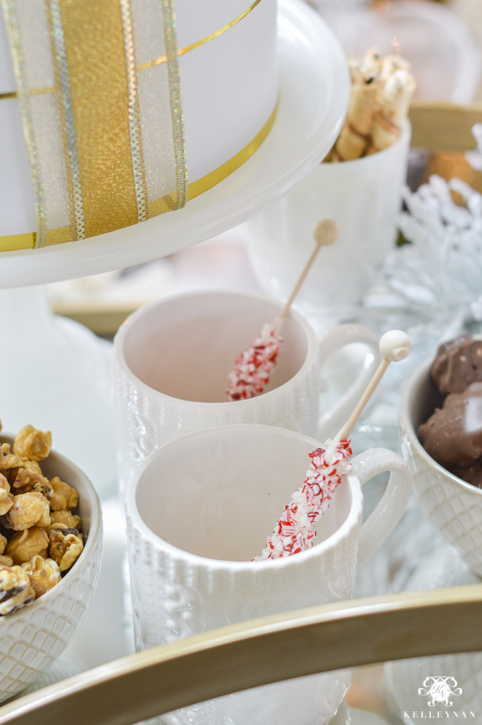 gold-bar-cart-with-hot-chocolate-and-goodies