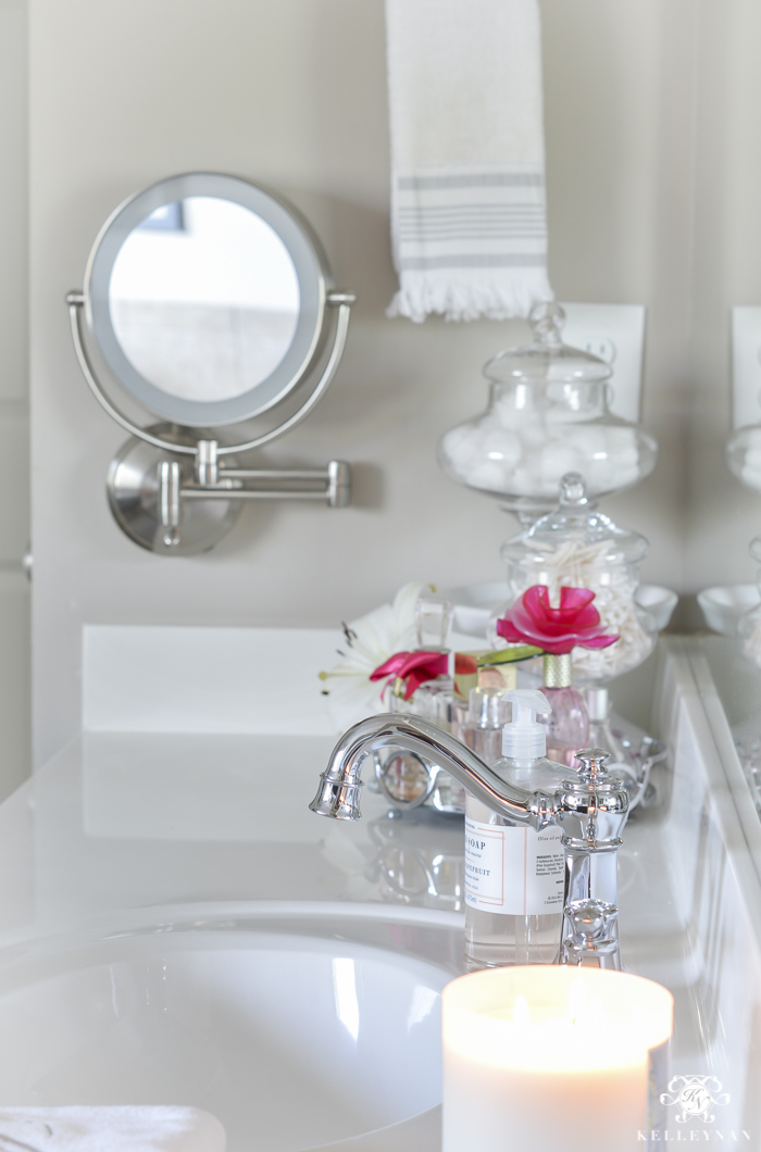 Vanity Makeup Drawer And Bathroom Cabinet Organization Kelley Nan